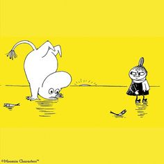 ave a fun ! Little My Moomin, Moomin Cartoon, Tove Jansson, Moomin Valley, Cat Dad, Life Is An Adventure, Illustrations And Posters, Fantasy Art, Fairy Tales