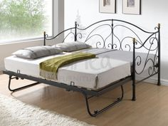 daybed with trundle...better frame but like the pop up trundle idea
