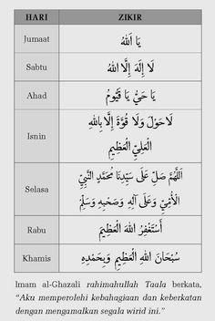 Zikir harian Pray Quotes, Quran Quotes Inspirational, Islamic Love Quotes, Muslim Quotes, Life Quotes, Hijrah Islam, Doa Islam, Mecca Islam, Prayer Verses