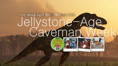 Caveman Week at Jellystone!! Let's hear your Dino RAWR! :)