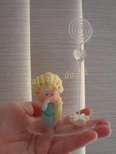 Porta foto/recado - Elsa (Frozen) Ateliê Juliana de Sá e-mail: julianah.sa@hotmail.com