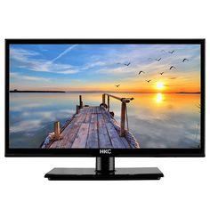 HKC 20C1NB 20 pouces (50.80 cm) Téléviseur LED (Full HD 1920 x 1080, triple tuner, DVB-T/T2/C/S/S2, H.265 CI +, Mediaplayer HEVC via USB) [Classe d'efficacité énergétique A] [Classe énergétique A]
