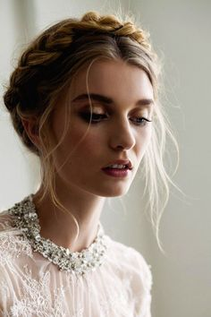 party hairstyles long hair braided updo