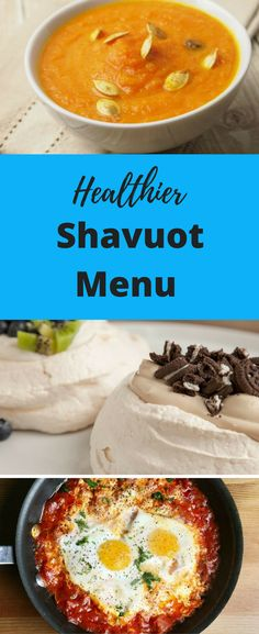 Eat dairy but make it a little healthier with this Shavuot menu - All Recipes & Vegan and other Sukkot Recipes, Ramadan Recipes, Jewish Recipes, Holiday Recipes, Dinner Recipes, Ramadan Food, Kosher Recipes, No Dairy Recipes, Milk Recipes