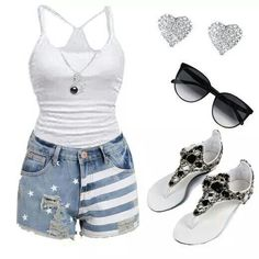 Cute and simple summer wear