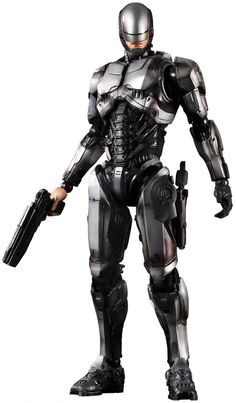 RoboCop 2014 Concept Art | Play Arts Kai Action Figures: Robocop 1.0]