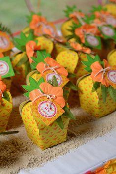 Lembrancinha abacaxi
