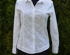 Check out our embroidered blouse selection for the very best in unique or custom, handmade pieces from our blouses shops. Embroidered Blouse, Long Sleeve, Sleeves, Etsy, Shopping, Tops, Women, Fashion, Moda