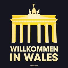 Welcome to who......? #NatoSummit #Wales