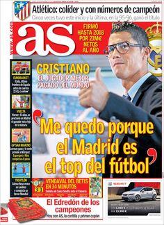 Los Titulares y Portadas de Noticias Destacadas Españolas del 16 de Septiembre de 2013 del Diario AS ¿Que le pareció esta Portada de este Diario Español?