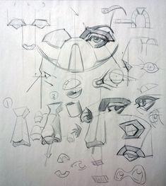 Human Anatomy Drawing, Human Figure Drawing, Figure Drawing Reference, Drawing Skills, Drawing Techniques, Realistic Drawings, Art Drawings, Art Syllabus, Portrait Drawing Tips