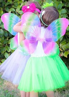 Black Butterfly Fairy Angels Wings Dress Up Costumes Gymnastics Party Halloween