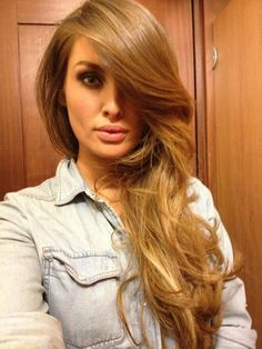 Caramel Blonde Hair Color Ideas