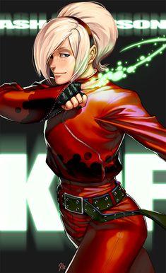 KOF - Ash Crimson by kasai.deviantart.com on @DeviantArt