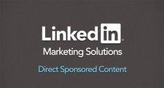 Linkedin introduce los contenidos directos patrocinados