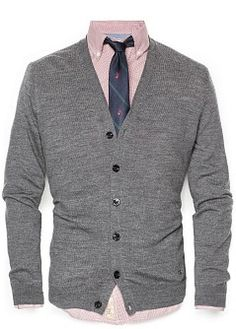 V-neck wool cardigan The Sartorialist selected items. #FW13