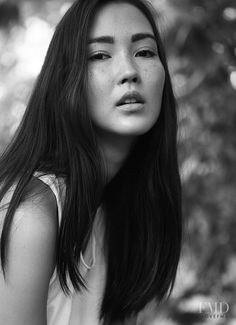 Half German, half Korean model Jennifer Koch is a new face among Asian models. Charmed by her doll-like features and freckles!