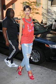 Zendaya out in NYC 07/22/15