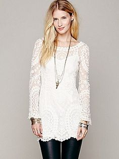 Free People Commemorative Bell Sleeve Dress at Free People Clothing Boutique