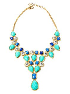 Crystal Dune Necklace by Amrita Singh at Gilt