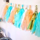 """We love the fun and simple party décor for this """"My Favorite Things"""" party."""