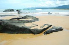 1. This is a beach in Sierra Leone.