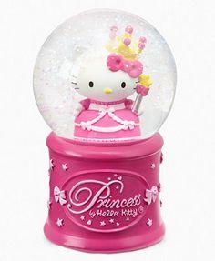 Princess Hello Kitty Snowglobe