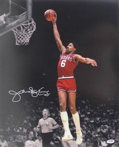 julius erving basketball cards | Julius Erving Signed Photograph Pricing: