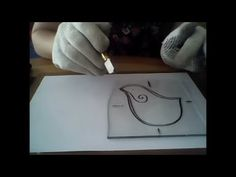Cómo hacer un pajarito en vitrofusión, tips para corte curvo - Judith Edery - YouTube Fused Glass, Stained Glass, Lampworking, Ideas, Glass, Recycled Glass, Crafts To Sell, Craft Videos, Stained Glass Windows