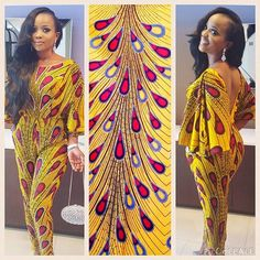 We love everything about this look @iamnini1 😍💛❤️ Shop the fabric; get the…