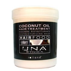 UNA Hair Food Coconut Oil Hair Treatment 34oz(1000ml) * Want to know more, click on the image.