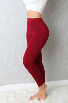 My Favorite Leggings Ever Burgundy – Fashion Effect Store