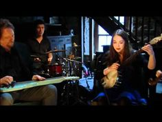 Sarah Jarosz singing with the musical masterminds in Transatlantic Sessions in Scotland.