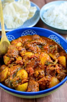 Slimming Eats Syn Free Beef and Potato Curry - gluten free, dairy free, Slimming World and Weight Watchers friendly