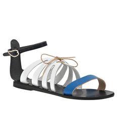 Bohemian Blues: Ancient Greek Sandals Iphigenia
