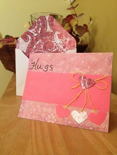 Hand made cards and envelopes