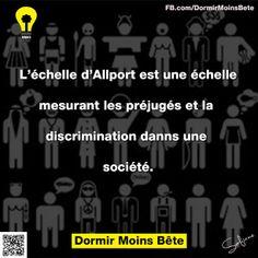 L'échelle d'Allport est une échelle mesurant les préjugés et la discrimination dans une société.