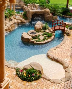 Superb A Look At Some Residential Lazy Rivers « Homes Of The Rich U2013 The Webu0027s #