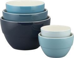 "5-Piece 5.75""-10.5"" Market Bowl Set  