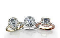Our hugely popular line of Halo Engagement Rings and why we love them!