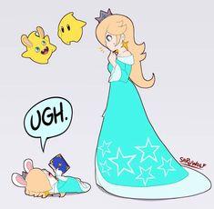 Luma Mario, Mario And Luigi, Mario Bros, Super Mario Princess, Nintendo Princess, Mario Fan Art, Super Mario Art, Super Smash Ultimate, Mother Games