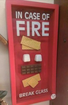 In case of fire ..,