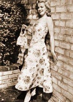 Marilyn Monroe/Norma Jean, for Blue Book Modeling, 1946.