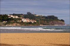 Playa de la griega Colunga.Asturias