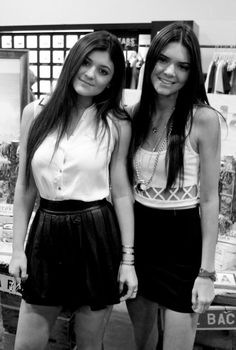 Kendall and Kylie Jenner - their outfits are to die for!
