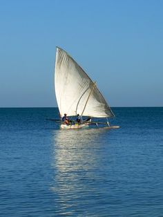 The vezo fishing boat - Mahajunga, Mahajanga Madagascar by Alain Gosser