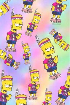 Bart Simpson Hippie