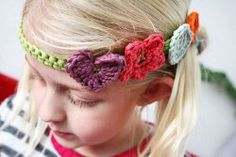 The Best Crochet Headband Pattern + 16 DIY Hair Accessories  Read more at http://www.allfreecrochet.com/Crochet-Accessories/The-Best-Crochet-Headband-Pattern-DIY-Hair-Accessories   ~Happy Day Headband