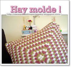 Ideas para el hogar: Almohada tejida