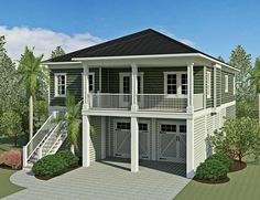 May not need ANY modifications!!! Possible reflection of floor plan.   Coastal Home Plans - Baxter Street